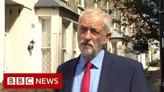 Jeremy Corbyn: What is Boris Johnson so afraid of? - BBC News