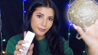 ASMR Makeup Roleplay Using Unusual Items (Gum Chewing)