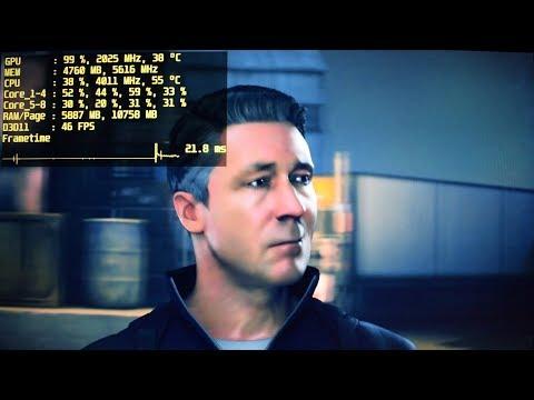 Quantum Break - i7 920 - GTX 1080 Ti - 1080p / 1440p Test