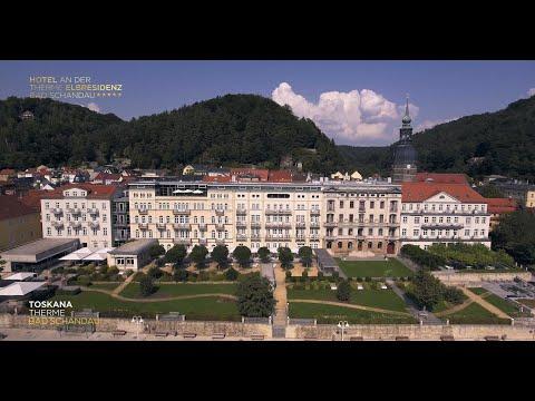 """Luftaufnahmen """"Hotel an der Therme Elbresidenz Bad Schandau"""""""