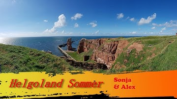 Helgoland im Sommer DJH Urlaub