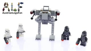 Lego Star Wars 75165 Imperial Trooper Battle Pack - Lego Speed Build Review