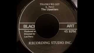 JUNIOR BYLES & THE UPSETTERS - The Thanks We Get [1974]