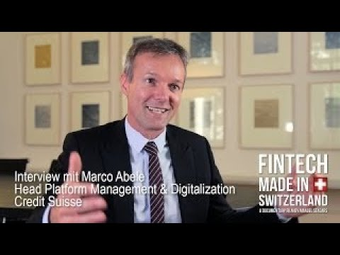 FinTech Made in Switzerland: Interview co Abele, Credit Suisse