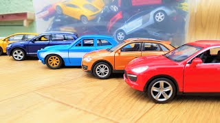 Various Types of Diecast from the Box 'SUVs CARS'