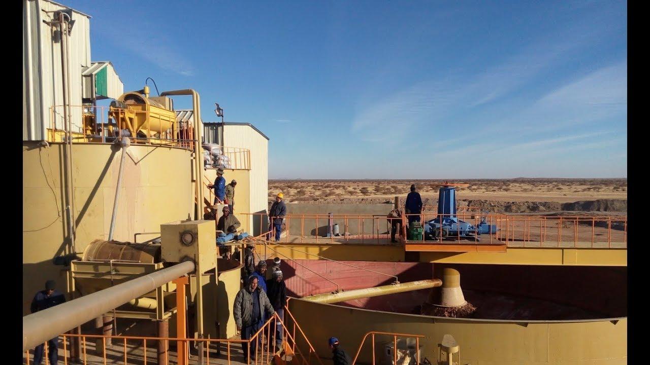 Super beautiful and magnificent Gold CIL plant in  Sudan