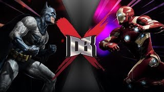 Batman VS Iron Man (DC VS Marvel) | DBX