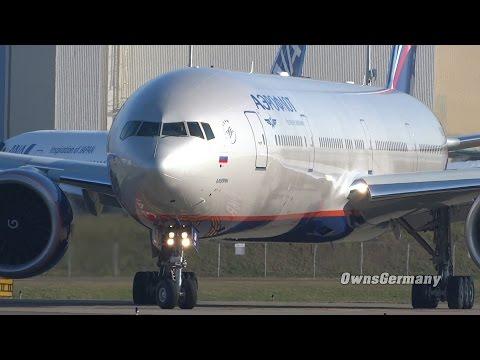 Test Flight Aeroflot Boeing 777 VQ-BQB TakeOff + Landing @ KPAE Paine Field