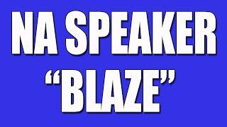 Blaze - NA Speaker - Narcotics Anonymous Speaker