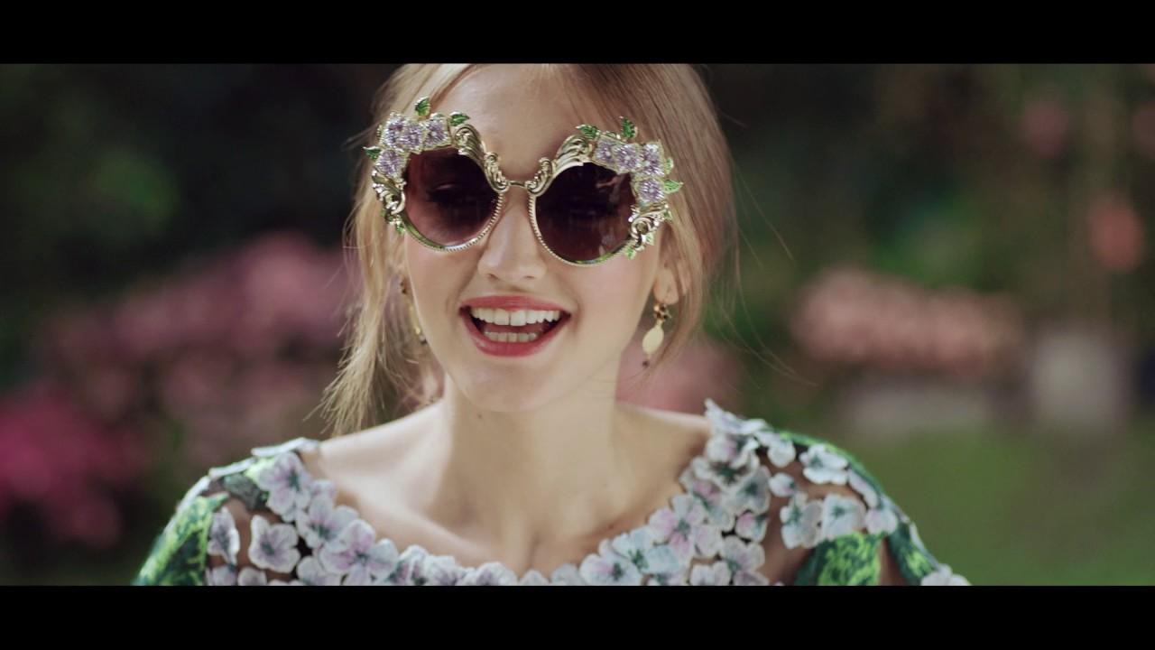 Dolce & Gabbana #DGOrtensia Brillenkollektion
