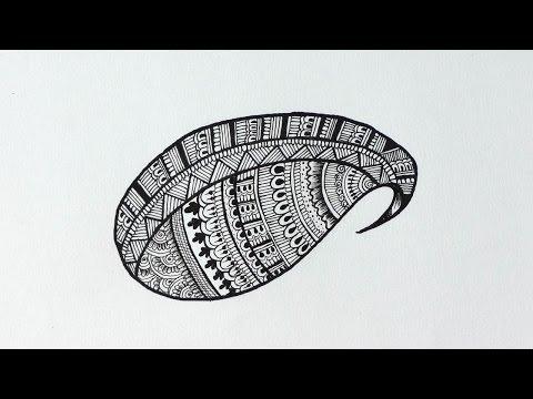Paisley Pattern Doodle