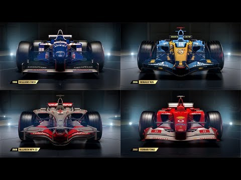 ALL F1 2017 CLASSIC CAR TRAILERS