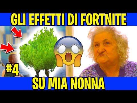 GLI EFFETTI DI FORTNITE SU MIA NONNA - PARODIA(Stagione 4) - iPantellas
