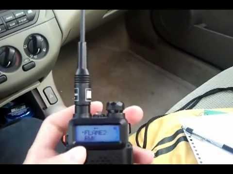 BAOFENG Dual band model UV-5R II VHF/UHF Dual Band Radio