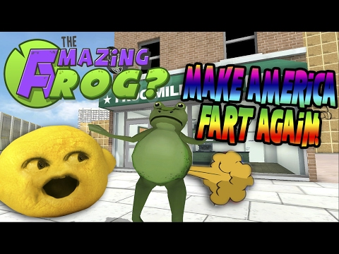 Grandpa Lemon Plays - Amazing Frog: Make America Fart Again! |