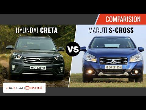 Maruti S Cross Vs Hyundai Creta | Exclusive Review | CarDekho.com