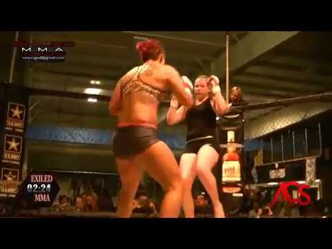 ACSLIVE.TV Present's Exiled MMA Angelina Schneider VS Jackie Leese