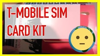 T-Mobile Prepaid Sim Card Activation Kit w/ Pay As You Go No Contract Wireless Plans | MySuLonE
