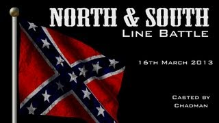 Mount and Blade Line Battle - North & South Mod (American Civil War)  - Saturday Event - 16-03-2013