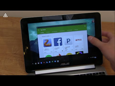 Google Play Store on Chromebooks!