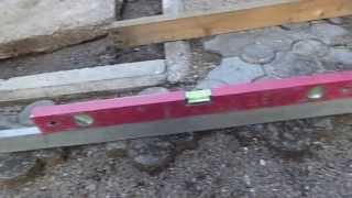 Укладка тротуарной плитки.(Простейший способ укладки тротуарной плитки.Благодарю за лайки и за дизлайки тоже.Прошу заметить, что я..., 2013-07-12T11:39:35.000Z)
