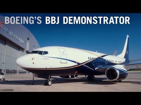 Outfitting the New 737-based Boeing Business Jet Demonstrator – AINtv