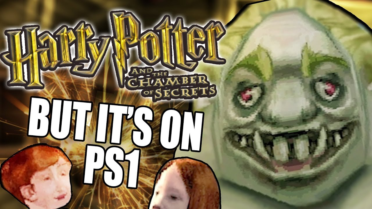 Harry Potter But Its On The Ps1 Youtube