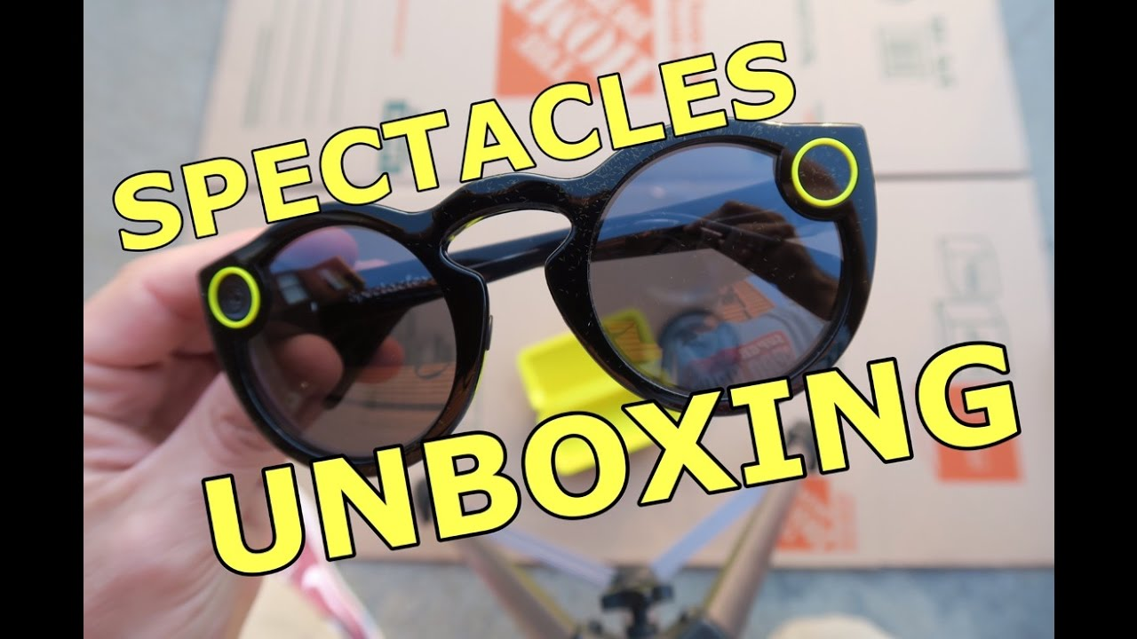 379a45e245 Snapchat Spectacles Unboxing   Review - A First Look - Snap Inc ...