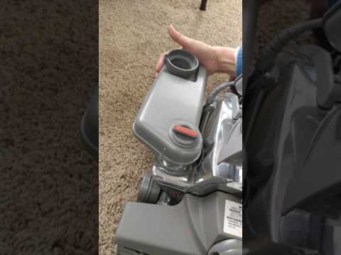 How To Switch Kirby Vacuum To Carpet Shampoo System