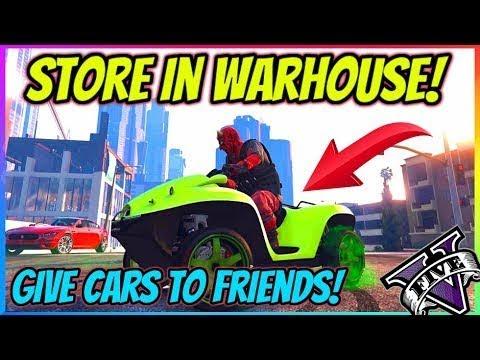 Store *FREE* Pegasus In Vehicle Warehouse (GTA 5 Give Cars To Friends Glitch 140) GTA 5 Money Glitch