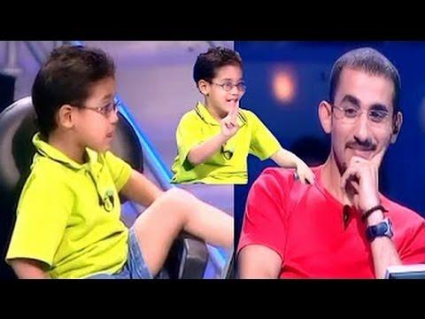 احمد حلمي   و الطفل الى دمه عسل و بيهزر كتييير الحلقة دى هتموتك من الضحك