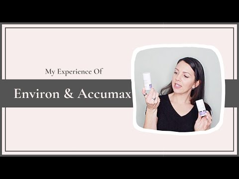 Environ and Accumax - How I cured my Adult Acne