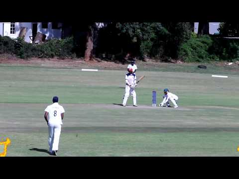 Zimbabwe University Sport Assocation Games (NUST batting in the knockout stages)