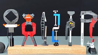 10 Amazing & Useful WoodWorking Clamp !!!
