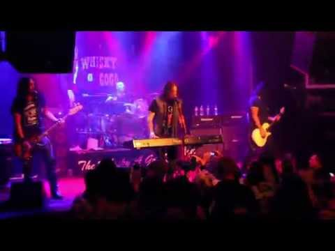 Hookers & Blow featuring Dizzy Reed of Guns n Roses  Pretty tied Up at the Whisky a go go