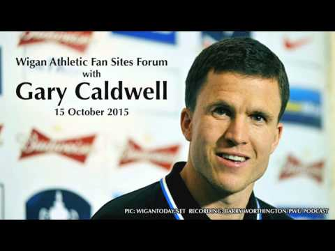 Wigan Athletic Fan Sites Forum with Gary Caldwell and Jonathan Jackson (15 Oct 2015)