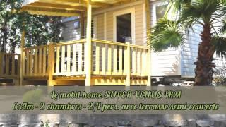 Mobil home Ohara + S Venus - Camping de Ceyreste