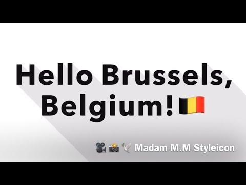 #63: Hello Brussels, Belgium!🇧🇪 | Europe Vlog #3
