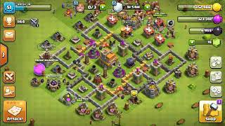 Townhall 8 valkiyari attacking strategy best ever