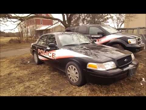 2008 Ford Crown Victoria Police Interceptor for sale | no-reserve Internet auction March 20, 2018