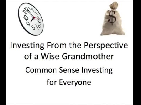 Wise Grandmother passes on how to prosper in investing