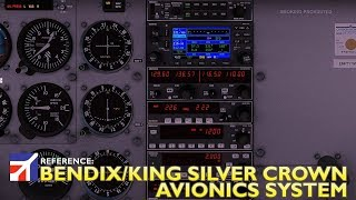 X Plane 11 : Airfoillabs Cessna 172 : Reference Avionics System