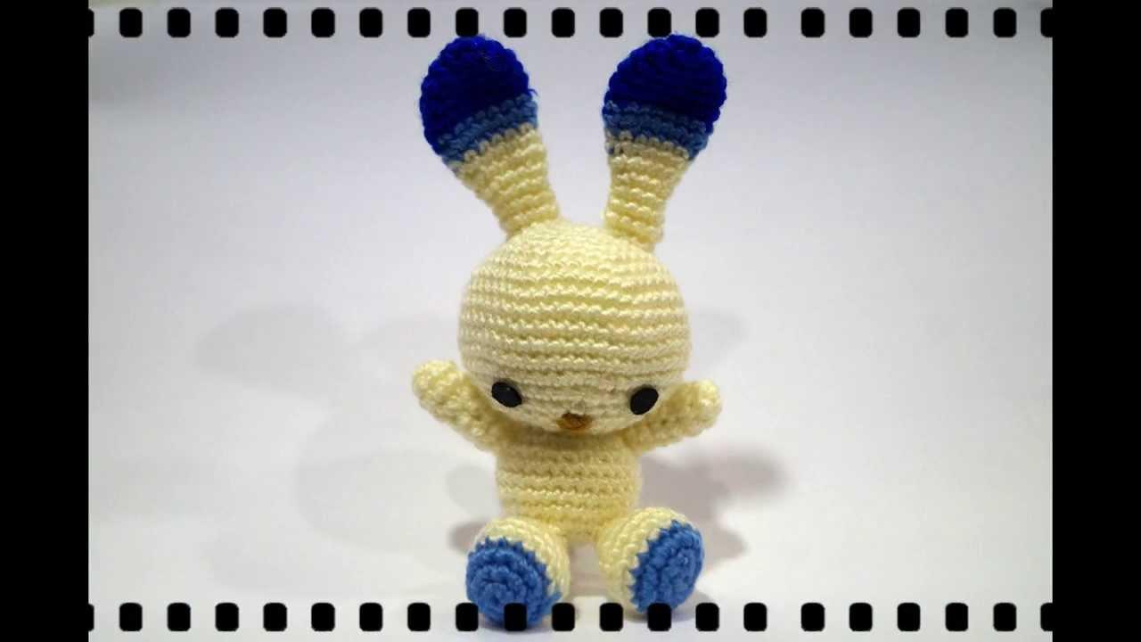 Único Patrón De Crochet Conejo Componente - Manta de Tejer Patrón de ...