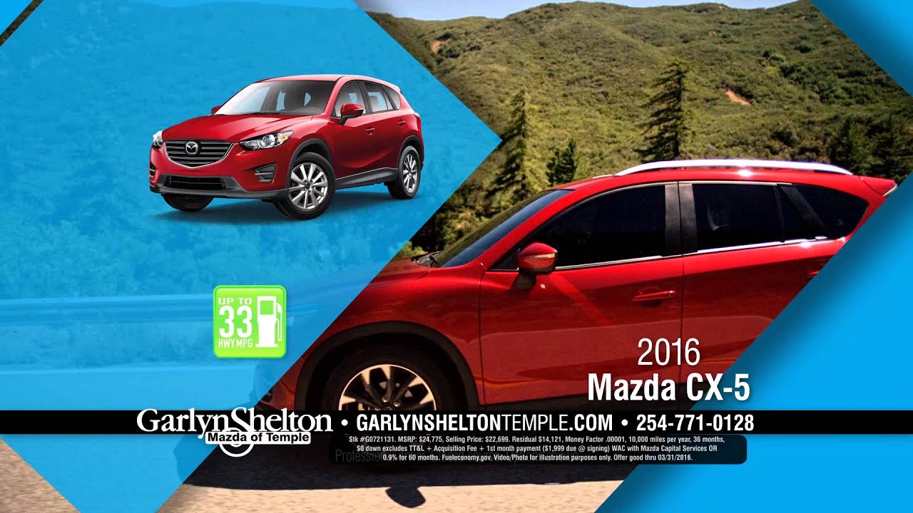 Garlyn Shelton Mazda of Temple #2 - March 2016 - YouTube