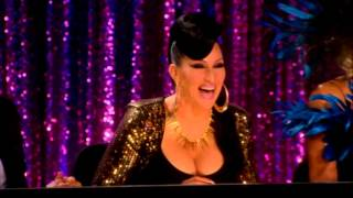 Michelle Visage/Sharon Needles/Rupaul Laugh for 5 Minutes - Rupaul's Dragrace Dragged Out
