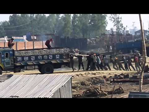 The crazy shipbreaking in Chittagong Bangladesh 6 of