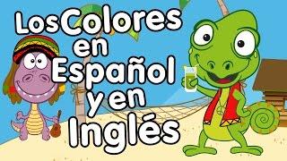 Canción de los Colores en Inglés y Español - Canción para niños - Songs for Kids in spanish