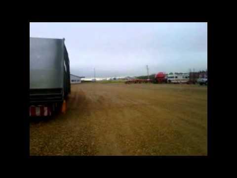 OVERSIZE! Monster Grain Dryer heads up to Alaska Highway!