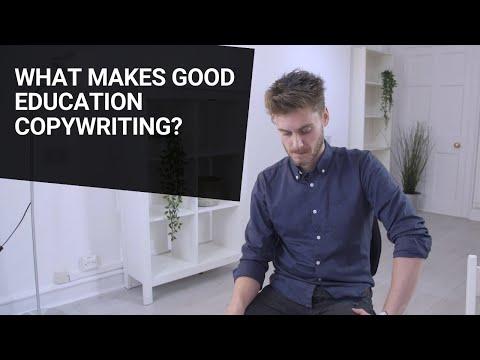 What Makes Good Education Copywriting?