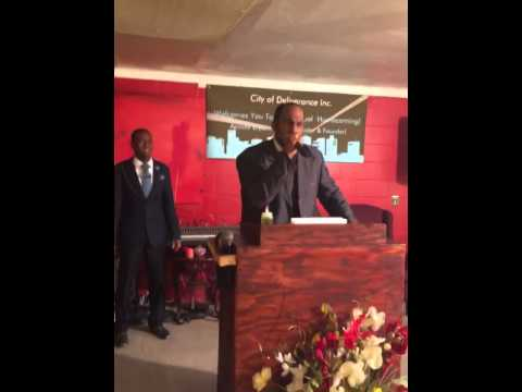 Apostle Michael Boone @ City of Deliverance (Miracle Monday)